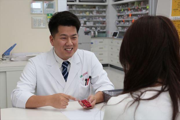 患者さん目線で優しく服薬指導