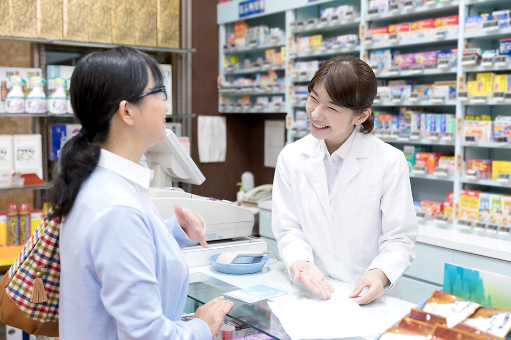 中小薬局で働く薬剤師